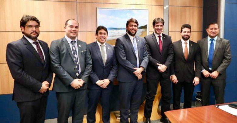 Em Brasília, Osmar Filho dialoga com políticos e trata de benefícios para São Luís